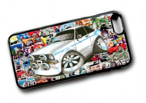 Koolart STICKERBOMB STYLE Design For Retro Mk2 Ford Escort RS MexicoHard Case Cover Fits Apple iPhone 6 & 6s